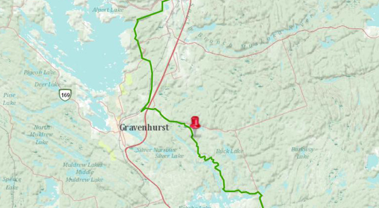 Doe Lake Gravenhurst Muskoka Ontario Trans Canada Trail
