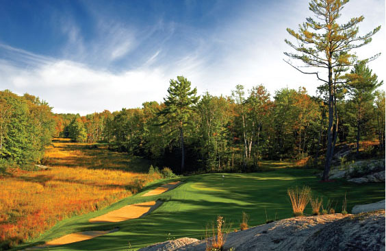 Golfing In Gravenhurst Muskoka Ontario