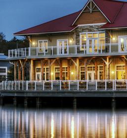 Gravenhurst Muskoka Ontario Wharf Restaurants