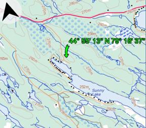 Sunny Lake Gravenhurst Muskoka Land For Sale Terrain