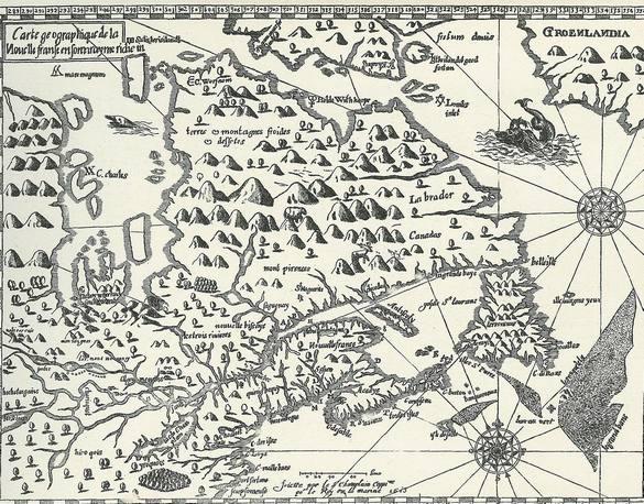 Samuel De Champlain Was One of The First Muskoka Explorers